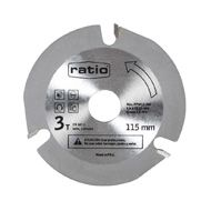 DISCO 3 DIENTES P/MADERA 115 MM RATIO