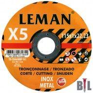 DISCO INOX LEMAN 115X1X22.23